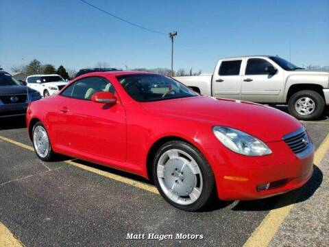 2002 Lexus SC 430 for sale at Matt Hagen Motors in Newport NC