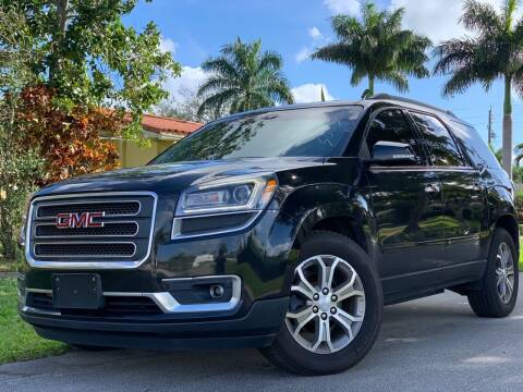 2013 GMC Acadia for sale at HIGH PERFORMANCE MOTORS in Hollywood FL