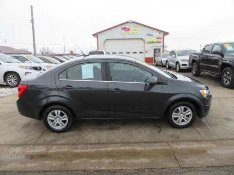 2014 Chevrolet Sonic for sale at Jefferson St Motors in Waterloo IA