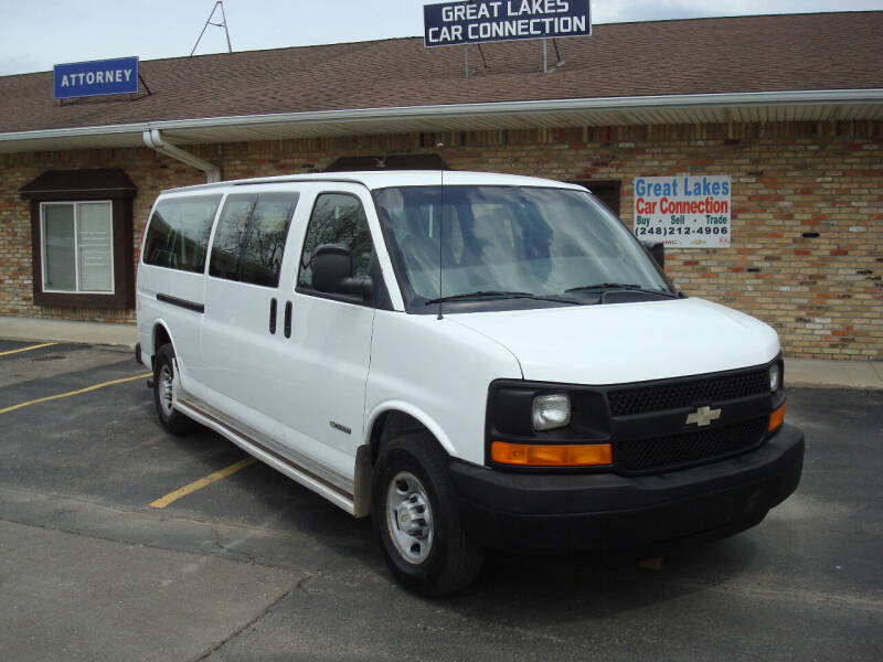 2006 Chevrolet Express Passenger for sale at Great Lakes Car Connection in Metamora MI