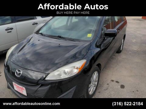 2012 Mazda MAZDA5 for sale at Affordable Autos in Wichita KS