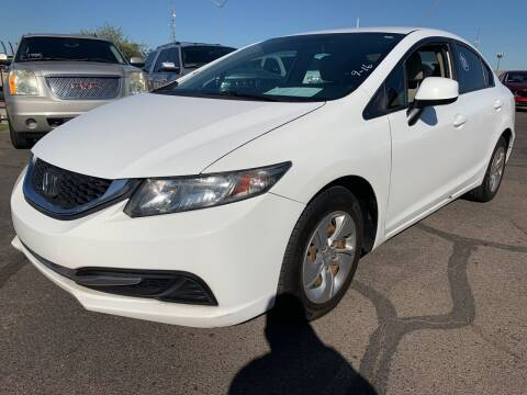 2013 Honda Civic for sale at Town and Country Motors in Mesa AZ