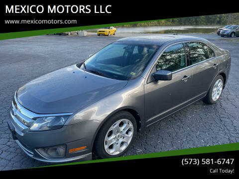 2010 Ford Fusion for sale at MEXICO MOTORS LLC in Mexico MO