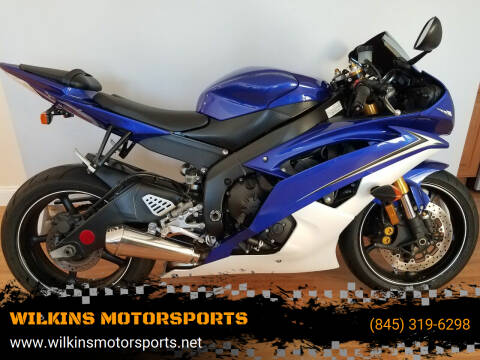 2010 Yamaha YZF-R6 for sale at WILKINS MOTORSPORTS in Brewster NY