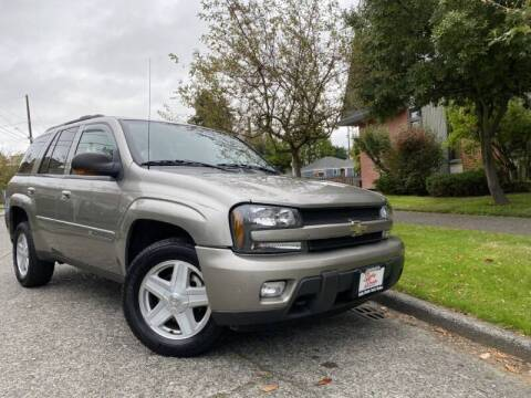 2002 Chevrolet TrailBlazer for sale at DAILY DEALS AUTO SALES in Seattle WA