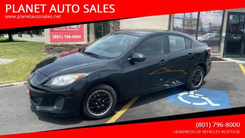 2013 Mazda MAZDA3 for sale at PLANET AUTO SALES in Lindon UT