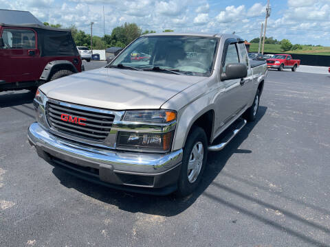 2007 GMC Canyon for sale at Todd Nolley Auto Sales in Campbellsville KY