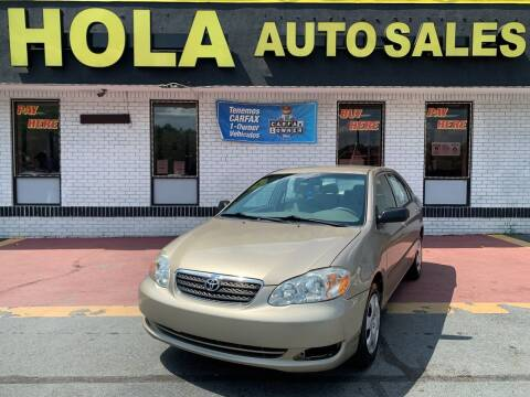 2008 Toyota Corolla for sale at HOLA AUTO SALES CHAMBLEE- BUY HERE PAY HERE - in Atlanta GA
