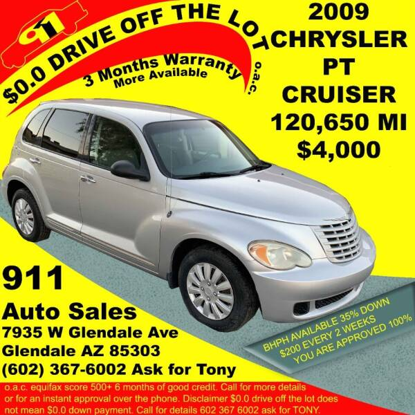2009 Chrysler PT Cruiser for sale at 911 AUTO SALES LLC in Glendale AZ