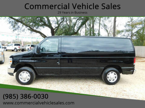 2013 Ford E-Series Cargo for sale at Commercial Vehicle Sales in Ponchatoula LA