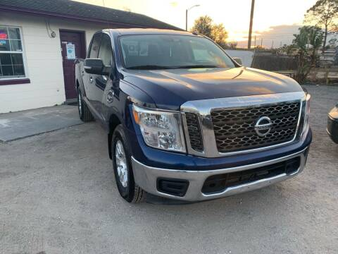 2017 Nissan Titan for sale at Excellent Autos of Orlando in Orlando FL