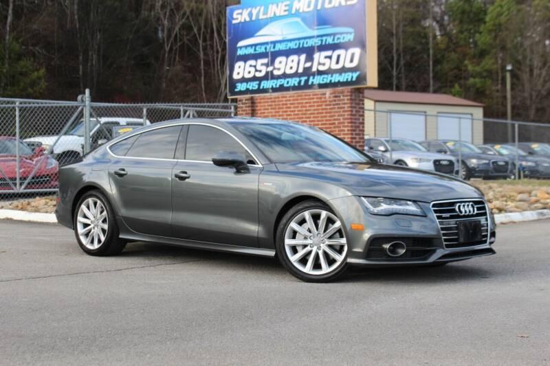 2012 Audi A7 for sale at Skyline Motors in Louisville TN