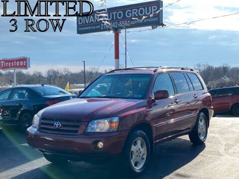 2007 Toyota Highlander for sale at Divan Auto Group in Feasterville PA