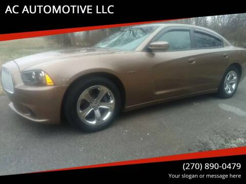 2014 Dodge Charger for sale at AC AUTOMOTIVE LLC in Hopkinsville KY