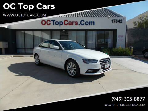 2014 Audi A4 for sale at OC Top Cars in Irvine CA