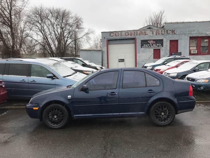 2001 Volkswagen Jetta for sale at Dan's Auto Sales and Repair LLC in East Hartford CT
