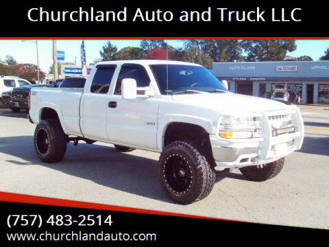 2001 Chevrolet Silverado 1500 for sale at Churchland Auto and Truck LLC in Portsmouth VA