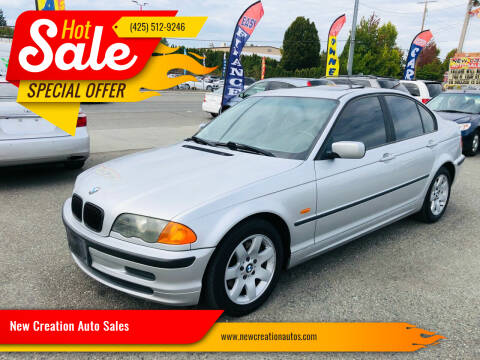 2001 BMW 3 Series for sale at New Creation Auto Sales in Everett WA