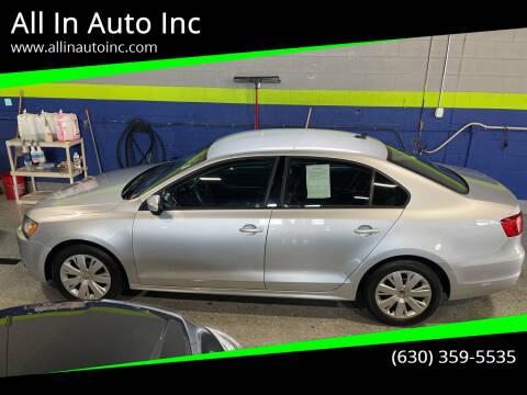 2014 Volkswagen Jetta for sale at All In Auto Inc in Addison IL