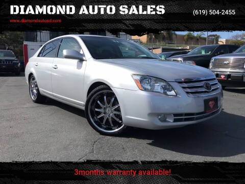2007 Toyota Avalon for sale at DIAMOND AUTO SALES in El Cajon CA