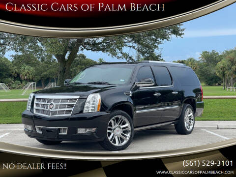 2011 Cadillac Escalade ESV for sale at Classic Cars of Palm Beach in Jupiter FL