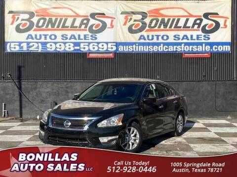 2015 Nissan Altima for sale at Bonillas Auto Sales in Austin TX