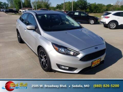 2018 Ford Focus for sale at RICK BALL FORD in Sedalia MO