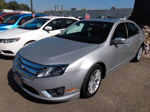 2010 Ford Fusion for sale at L & J Motors in Mandan ND