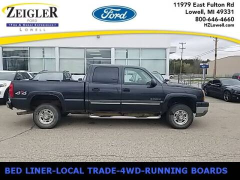 2003 Chevrolet Silverado 2500HD for sale at Zeigler Ford of Plainwell- Jeff Bishop in Plainwell MI