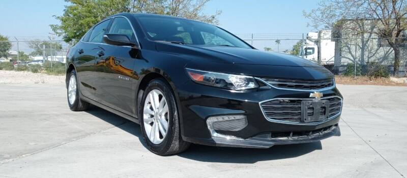 2016 Chevrolet Malibu for sale at AUTOMOTIVE SOLUTIONS in Salt Lake City UT