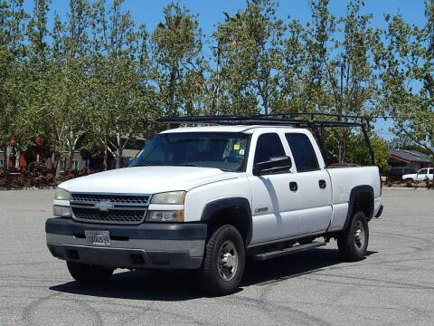 2005 Chevrolet Silverado 2500HD for sale at Crow`s Auto Sales in San Jose CA