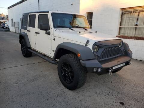 2010 Jeep Wrangler Unlimited for sale at PARK AUTO SALES in Roselle NJ