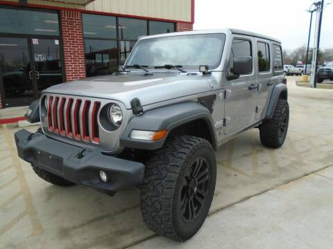 2018 Jeep Wrangler Unlimited for sale at Premier Foreign Domestic Cars in Houston TX