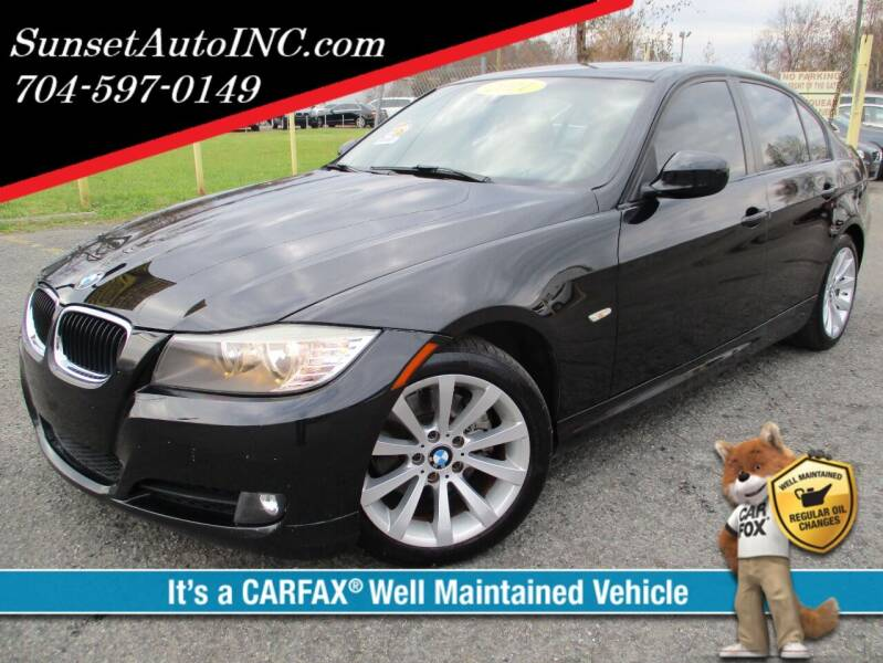 2011 BMW 3 Series for sale at Sunset Auto in Charlotte NC