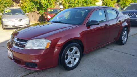 2014 Dodge Avenger for sale at Carspot Auto Sales in Sacramento CA