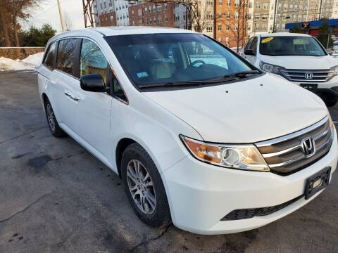 2011 Honda Odyssey for sale at Mass Auto Exchange in Framingham MA