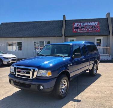 2011 Ford Ranger for sale at Stephen Motor Sales LLC in Caldwell OH