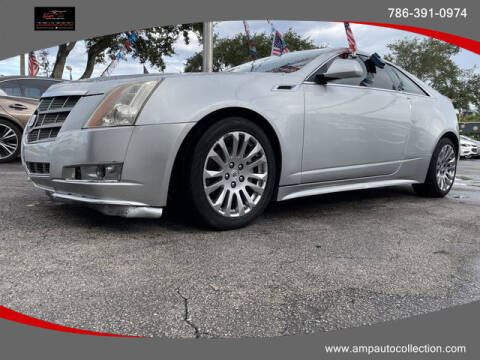 2011 Cadillac CTS for sale at Amp Auto Collection in Fort Lauderdale FL