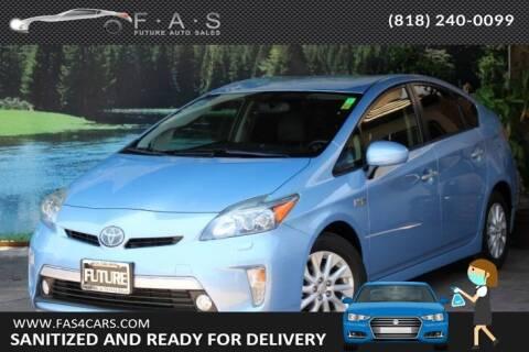 2012 Toyota Prius Plug-in Hybrid for sale at Best Car Buy in Glendale CA
