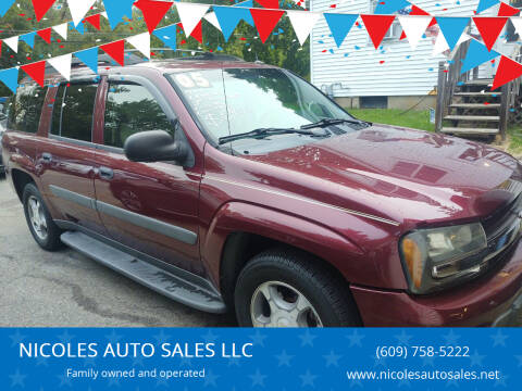 2005 Chevrolet TrailBlazer EXT for sale at NICOLES AUTO SALES LLC in Cream Ridge NJ