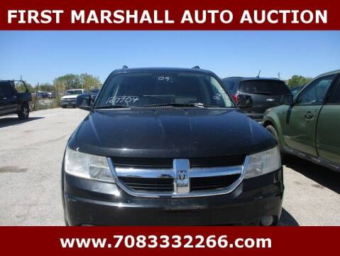 2009 Dodge Journey for sale at First Marshall Auto Auction in Harvey IL