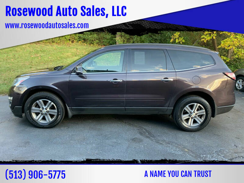 2015 Chevrolet Traverse for sale at Rosewood Auto Sales, LLC in Hamilton OH