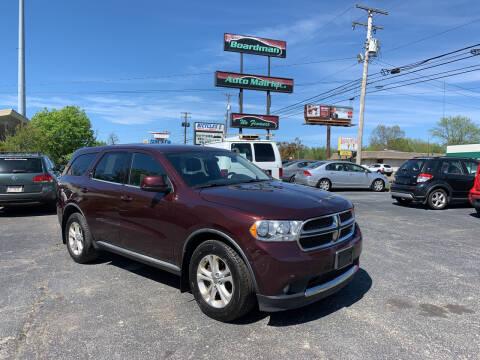 2012 Dodge Durango for sale at Boardman Auto Mall in Boardman OH