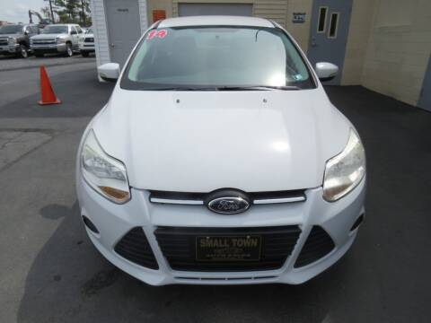 2014 Ford Focus for sale at Small Town Auto Sales in Hazleton PA