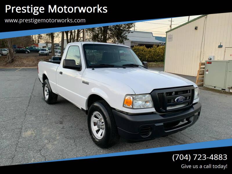 2010 Ford Ranger for sale at Prestige Motorworks in Concord NC
