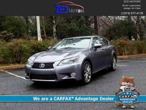2013 Lexus GS 350 for sale at Zed Motors in Raleigh NC