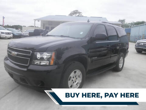 2009 Chevrolet Tahoe for sale at GRG Auto Plex in Houston TX