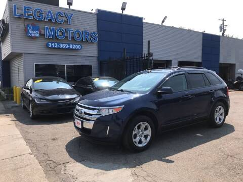 2012 Ford Edge for sale at Legacy Motors in Detroit MI
