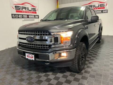 2018 Ford F-150 for sale at SIRIUS MOTORS INC in Monroe OH