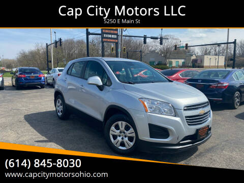 2015 Chevrolet Trax for sale at Cap City Motors LLC in Columbus OH